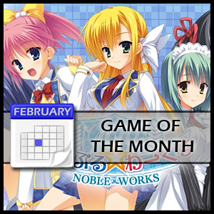 Our February 2016 Game of the Month is: Noble☆Works!