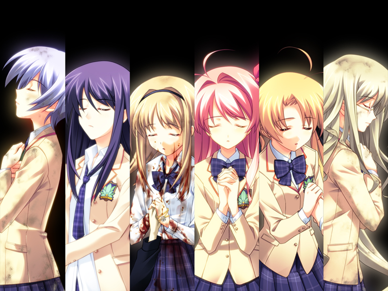 Chaos;Head Visual Novel MainArt