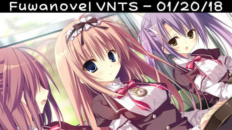 Header for our Visual Novel Translation Status post on 01/20/2018